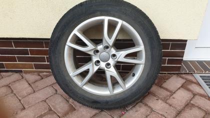 Kompletní sada zimních pneu na hliníkových ráfcích Audi Q3
